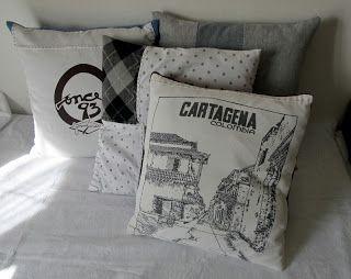 OrloSubito it: Riciclando magliette: cuscini 2