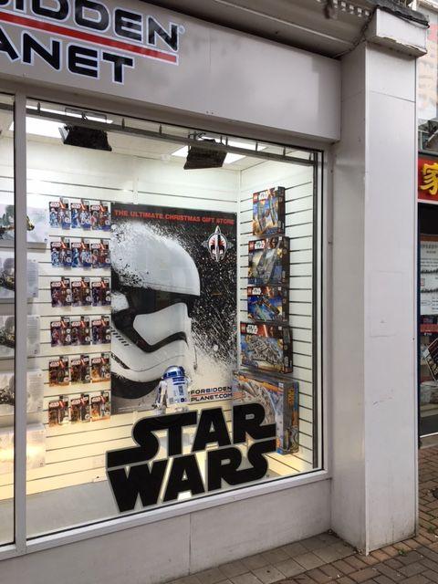 Star Wars in Cambridge