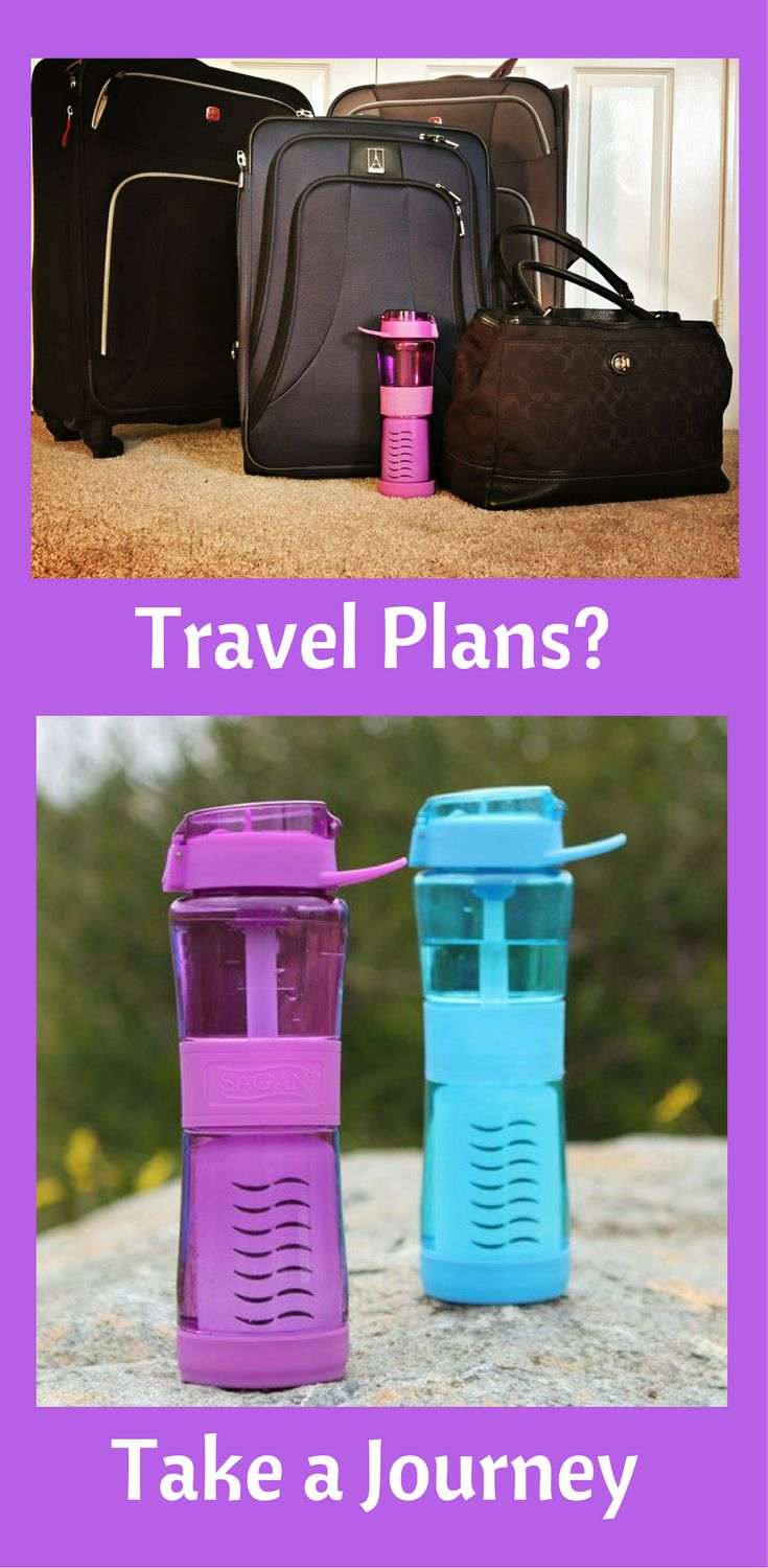 Find out why this is the most valuable asset you can take on your trip. Traveling to countries abroad, around the U.S., camping or even to the grocery store - the Journey™ Filter Water Bottle is a must. I never leave home without mine.   Why the Journey™ is the best travel water bottle https://www.saganpotablewater.com/blogs/water-news/best-travel-water-filter