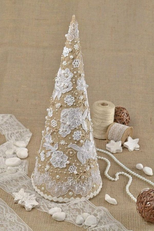 25+ unique Shabby chic xmas ideas on Pinterest