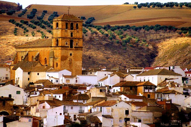 Alhama De Granada, the base for cycling day rides in the Granada area.