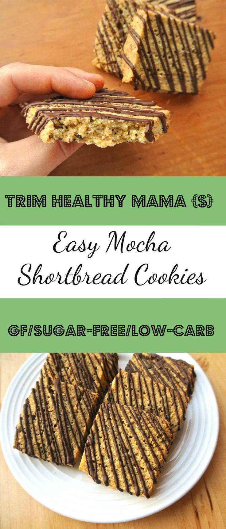 Trim Healthy Mama S Easy Mocha Shortbread Cookies