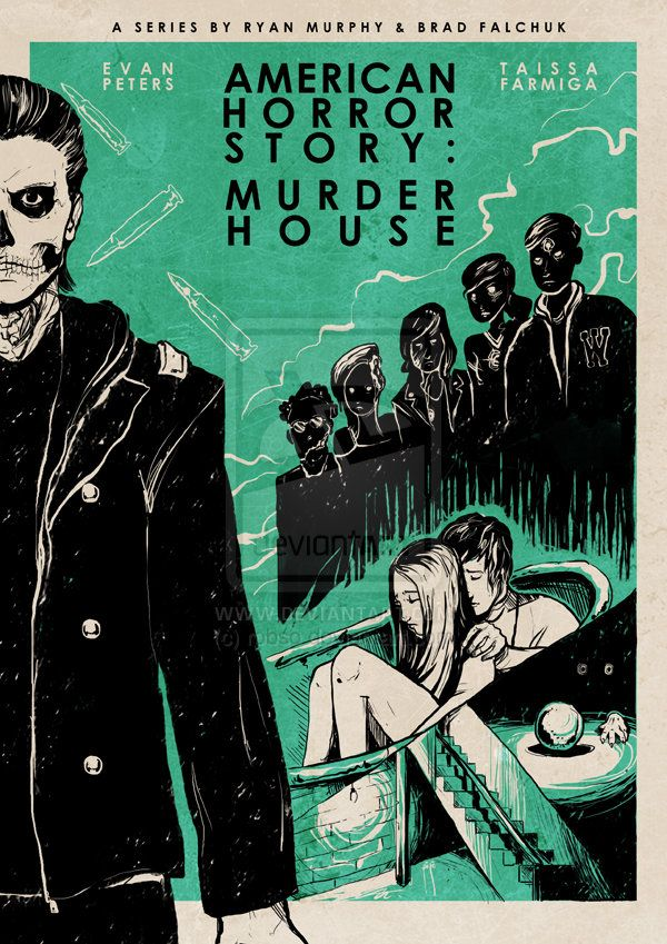 Stylised American Horror Story Posters by Roberto Sanchez