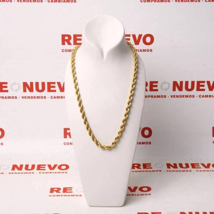 Cordón de oro de 18 kts. E267452 #oro #cordón #joya #joyería