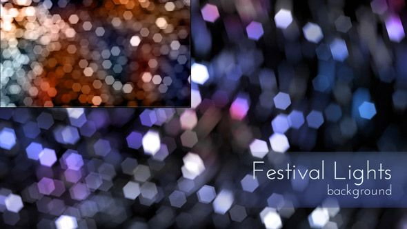 Festival Lights Backgrounds #dailymotion #bokehlight #overlays #effects #motionlight
