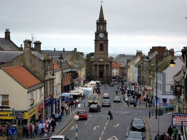 Marygate, Berwick-upon-Tweed (14 Aug 2010). Photograph by Graham Soult