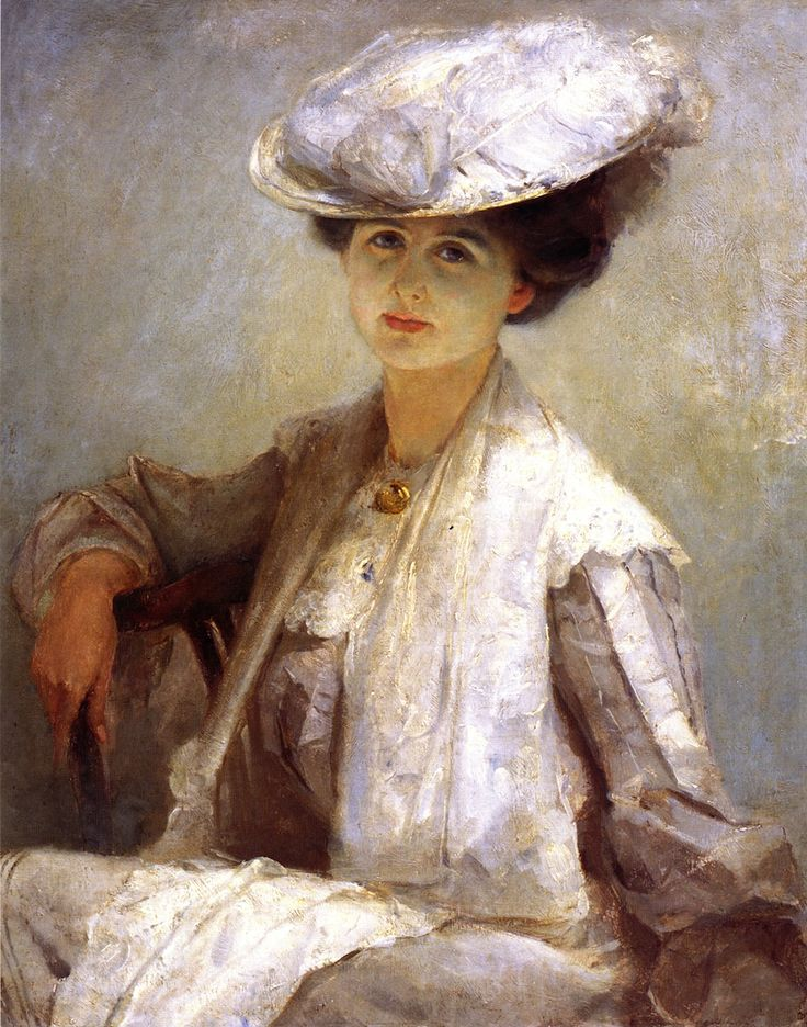 1912 - Grey Lady (Mrs. Ince) - Tom Roberts