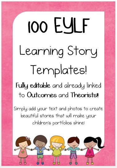 You won't generate any points for buying your own product. Want a Discount...Like this resource using the social media icons & a discount will automatically be applied to your purchase at checkout. Share This MEGA Pack contains all 102 Learning story templates, all containing spaces for stories, learning analysis and pictures and are already linked …