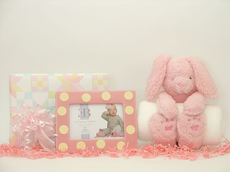 34 best baby gift baskets and baby love images on pinterest baby bedtime bunny baby gift set for girl negle Gallery