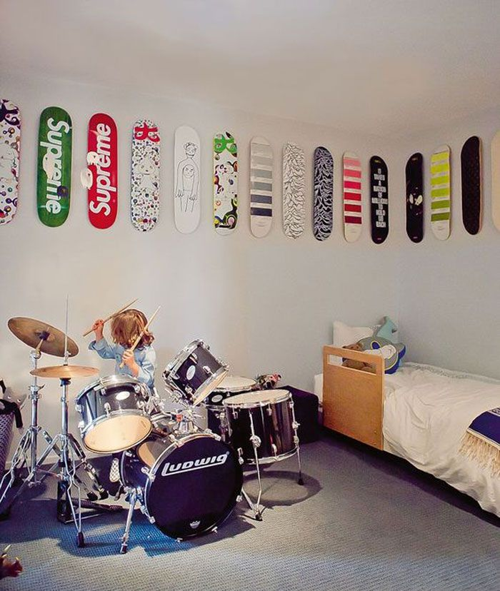 Instruments and Music Decor in Kids\' Rooms | Music bedroom ...