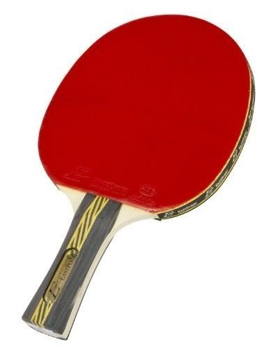 Ping Pong Table Tennis Paddle Rubber Facing Sponge Backing