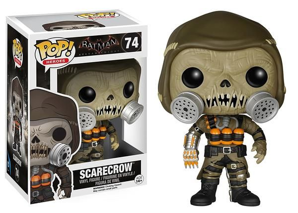 Like many of Batman's adversaries, Scarecrow has no super ability. Jonathan Crane is an intelligent psychiatrist that specializes in fear and phobias, he eventu