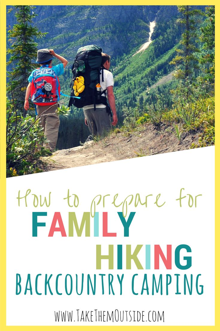 Backcountry tenting with Children: Prep for Success