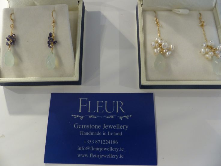 delicate jewelery by Fleur Design
