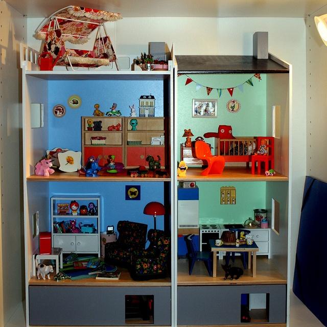 Furniture for the home - The Ikea Lillabo dollshouse...