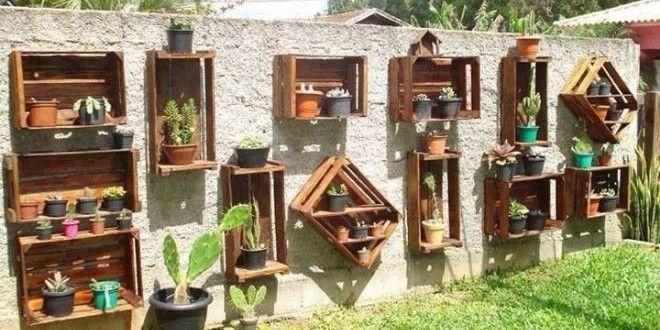 Jardinera palets portada más ideas