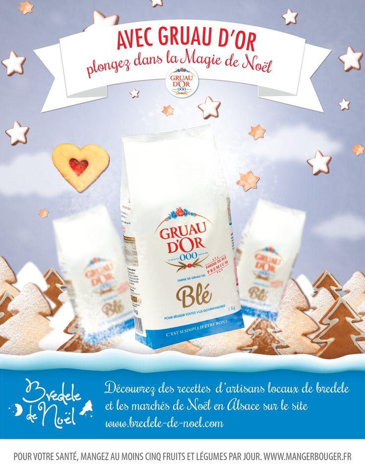 REMPORTEZ un assortiment de produits Gruau d'Or et un livre de cuisine Thierry Mulhaupt pâtissier chocolatier en participant à notre #jeuconcours ! 🎉🎈🎺 Pour TENTER VOTRE CHANCE il vous suffit d'envoyer votre MEILLEURE #recette de BREDELE accompagnée d'une photo de BONNE qualité à zoe@gruaudor.com 📬  Elles seront publiées sur le site www.bredele-de-noel.com et les trois recettes les plus consultées d'ici au 24 décembre remporteront chacune un lot ! 🎁 Bonne chance à tous