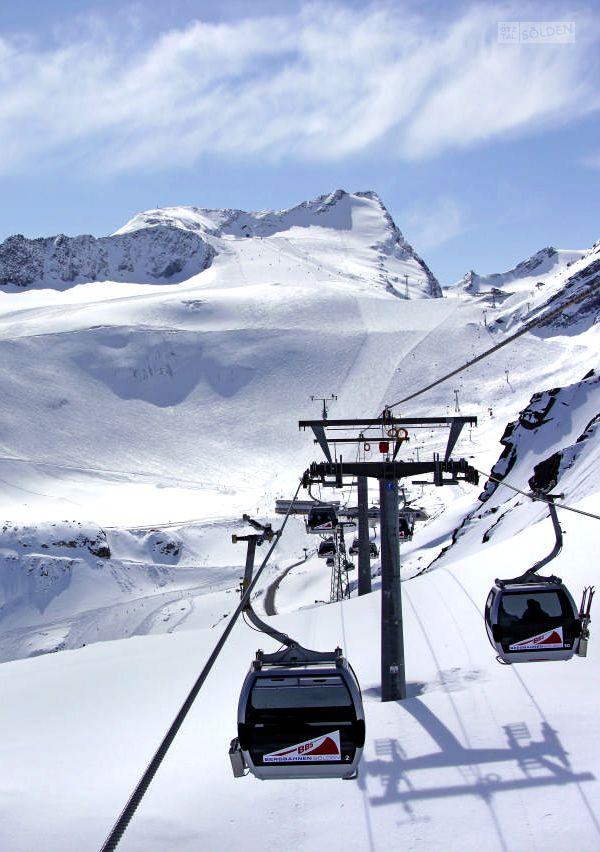 Glacier Sölden, Ötztal - Tirol, Austria