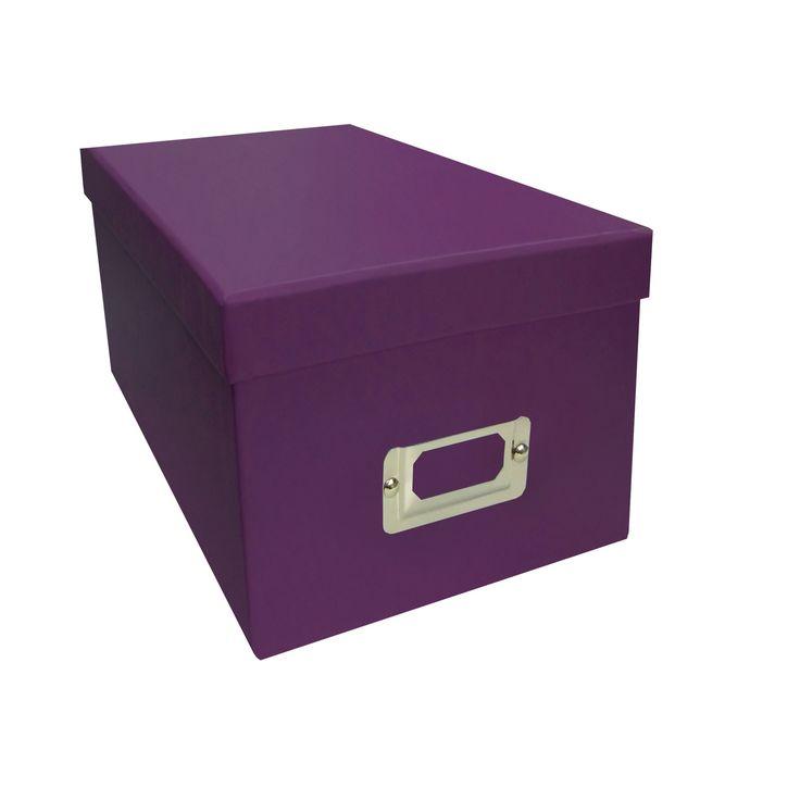 Decorative Dvd Storage Boxes Photo Organizers 146399 Pioneer Photo Albums Purple Cd Dvd