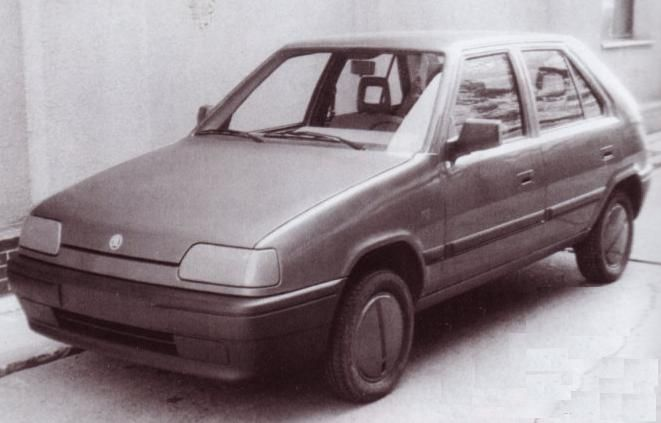 OG | 1992 Škoda Favorit | Facelift proposal