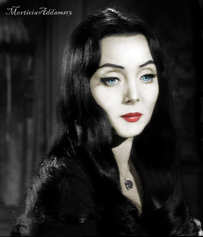 The Original Morticia Addams (Carolyn Jones) 1964-1966