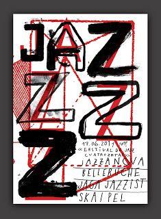 TRIVITOWN: Cartel Festival de Jazz cuatrozetas
