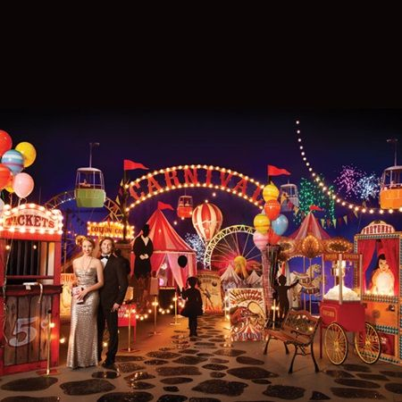 Carnival Extravaganza Complete Prom Theme-Prom under the big top for 2016! Fun, vintage, new prom theme.
