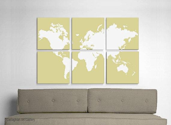 wall artGuest Room, Screens Prints, Living Room, World Maps, Maps Decor, Canvas, Maps Screens, Maps Prints, Maps Ideas