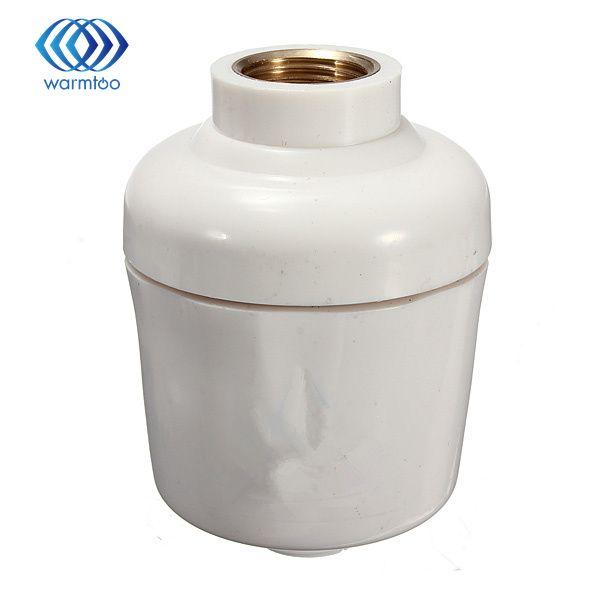 Healthy Bathroom Kitchen Bath Shower Head In-Line  Faucet Clean Water Tap Softener Chlorine Filter Purifier
