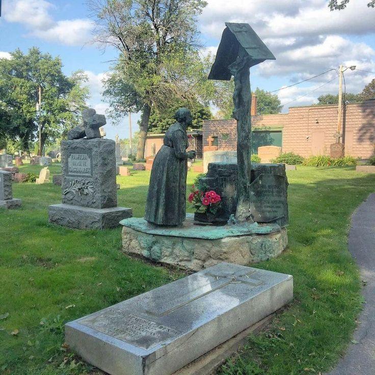 Milwaukee, Wisconsin's St. Adalbert Cemetery. by Mark