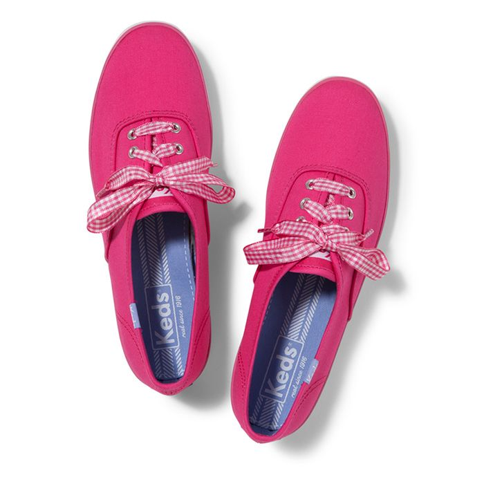 Champion Gingham Lace - Color Shown: Bright Pink