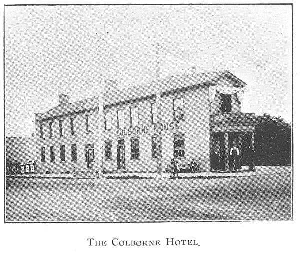 The Colborne Hotel, Goderich #Goderich #RediscoverGoderich #VintageGoderich #ColborneHotel