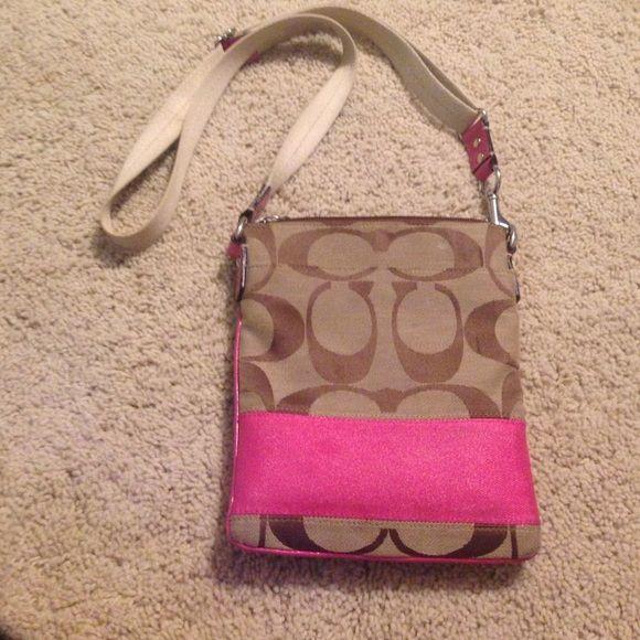 Coach Purse Pink Coach Purse Coach Bags Crossbody Bags