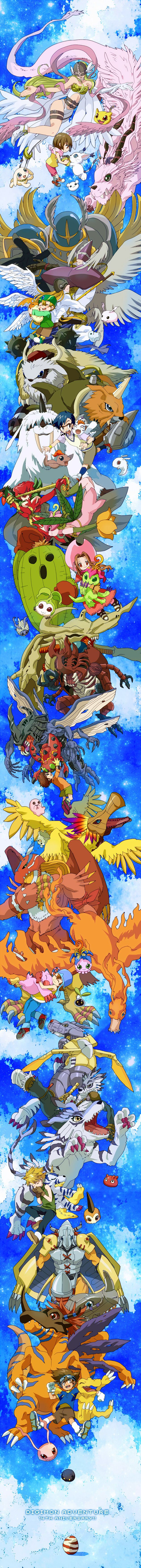 digimon adventure hasta etapa mega