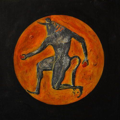 Minotaur fresk