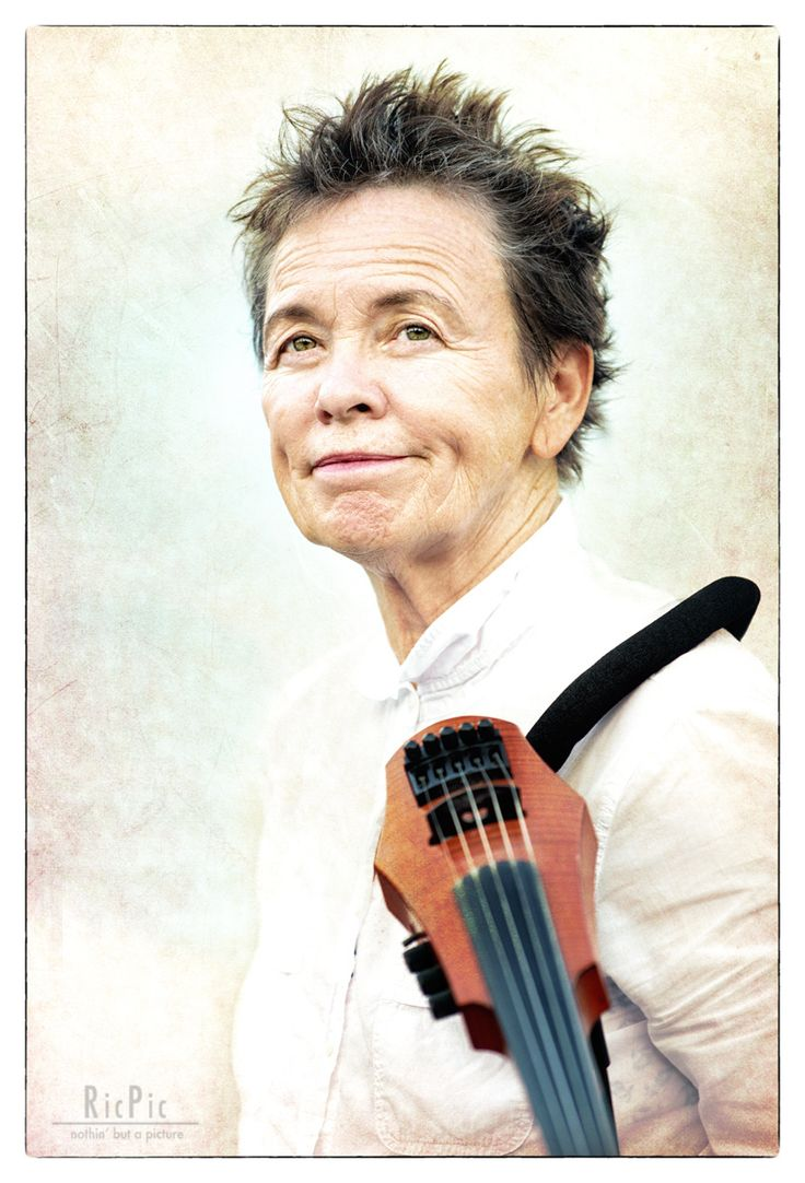 Laurie Anderson at Ravello, summer 2015