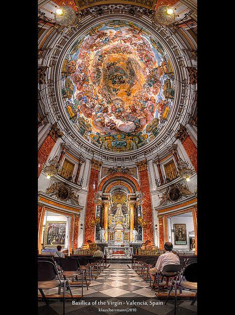 Basilica of the Virgin - Валенсия