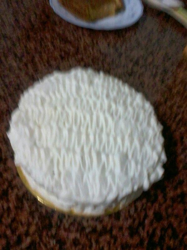 Pastel nata i pinya