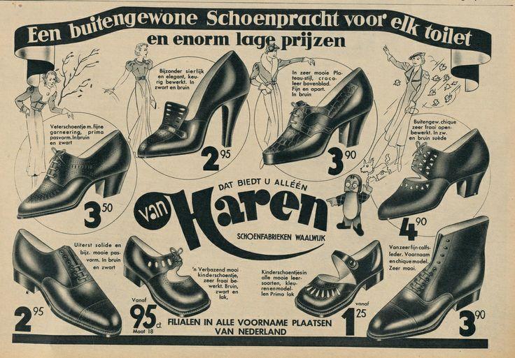 Van haren schoenen 1937 |