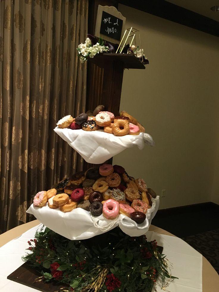 11.19.16 | Landry & Lauren Allen Wedding | Mckenzie Merket Alumni Center | Donut Tower by Rise-n-Shine Donuts| Event Planning by Top Tier