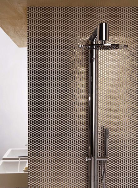 Gold penny round shower wall  tiles  signorinotilegallery. 17 Best images about   PENNY BACKSPLASH   on Pinterest   Sacks