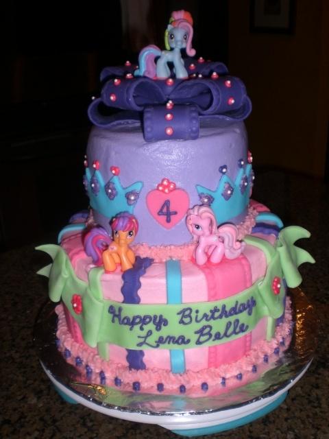 My Name Pix Art Birthday Cake