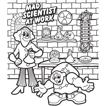 science lab coloring pages - photo#29