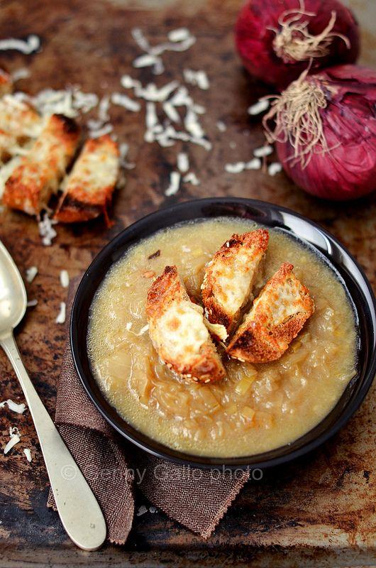 #Zuppa di cipolle, si fa presto a dire comfort food #onion #soup