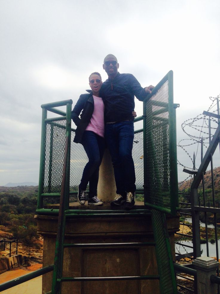 Phila and Nicole day 2 SA tour  North west an 1 hour away from the capital city of pretoria and Johannesburg