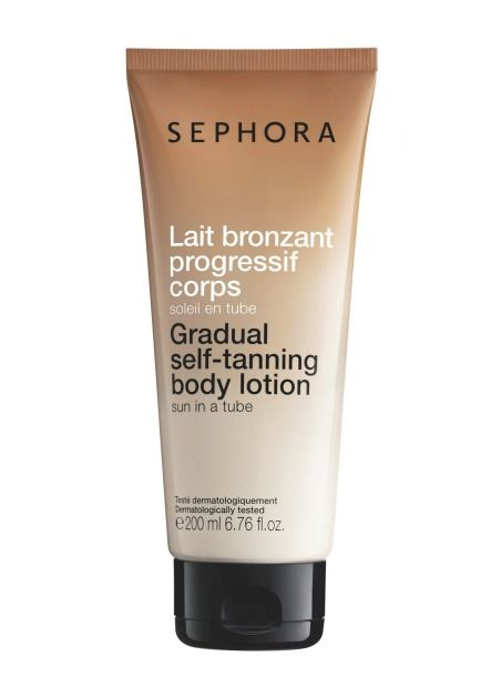 SEPHORA Collection Gradual Self-Tanning Body Lotion, $24, new product to the Australian beauty market. #SephoraAU
