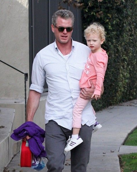 Eric Dane Photos Photos - 'Grey's Anatomy' actor Eric Dane, his wife Rebecca Gayheart and their daughter Billie meet for lunch in West Hollywood, California on December 5th, 2012. - Eric Dane & Rebecca Gayheart Meet For Lunch
