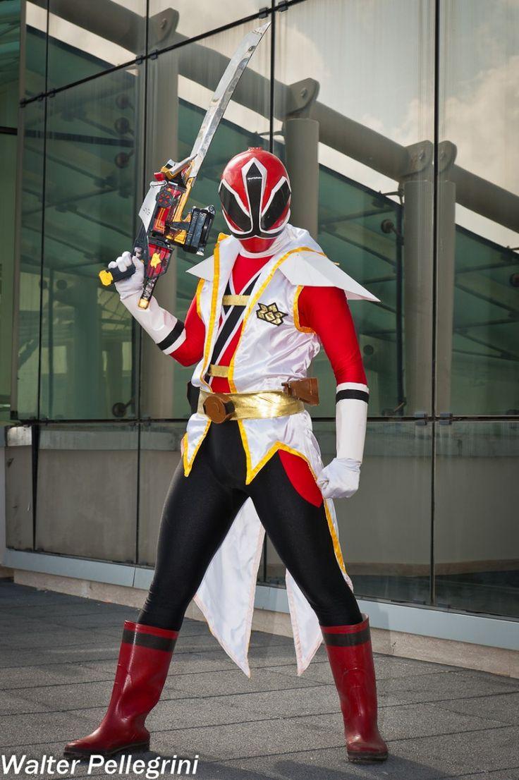 power rangers samurai cosplay the super samurai red