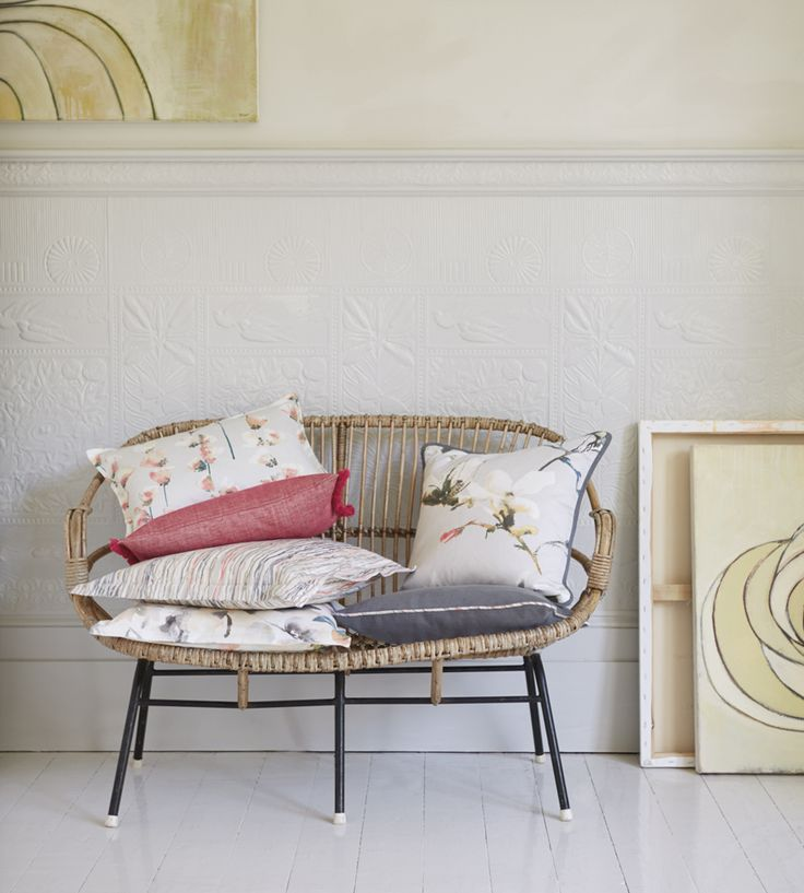 Scatter cushions | Leander Fabric by Romo | Jane Clayton