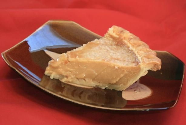 Tarte Au Sucre Francaise (French Canadian Sugar Pie)